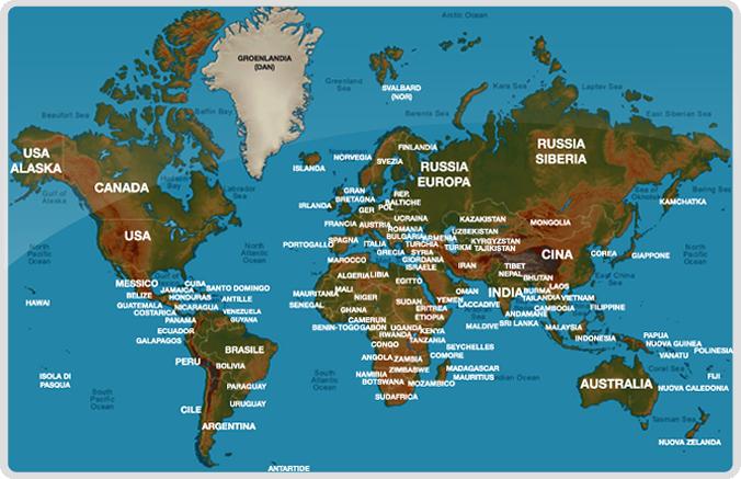 Cartina Mondo Per Viaggi.Viaggi Avventure Nel Mondo Trekking E Alpinismo