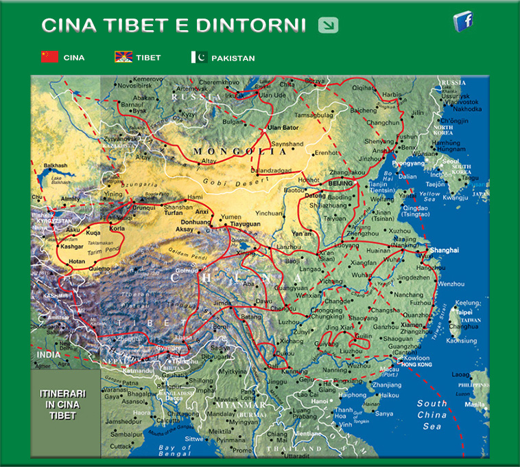 Cina E Giappone Cartina.Viaggi Avventure Nel Mondo Indice Viaggi Cina E Dintorni