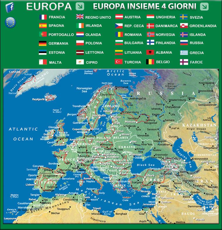 Viaggi Avventure Nel Mondo Indice Viaggi Europa